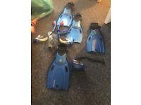 Snorkel & flipper set