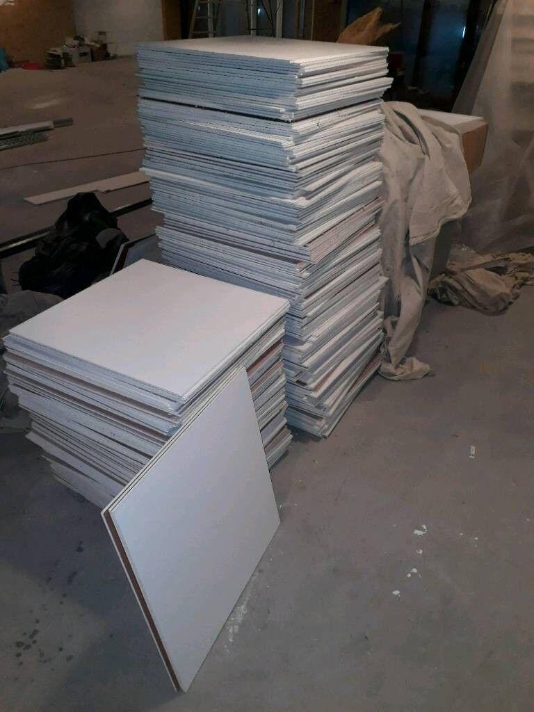 250 suspended ceiling tiles   in Aberdeen   Gumtree