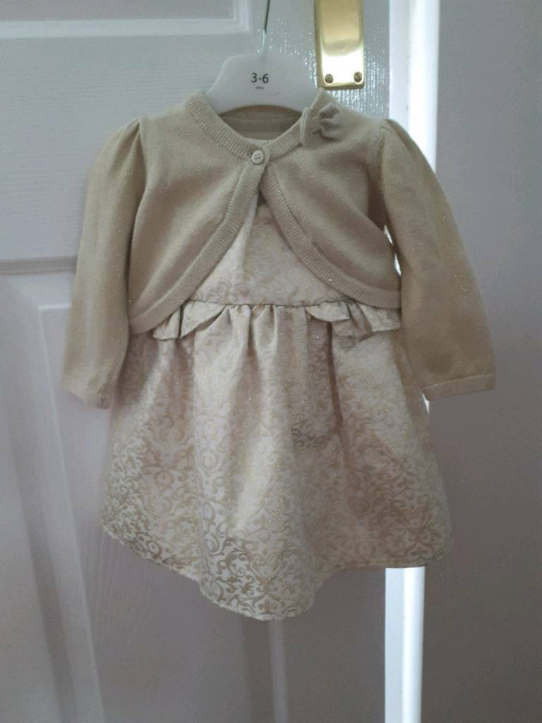 Girls dress 3-6mths