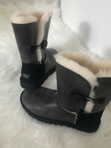 Sz 6 Authentic Ugg Bailey Bomber Brand New