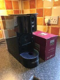 Coffee maker plus coffee pack