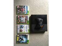 Xbox 360 500gb, Controller, Games