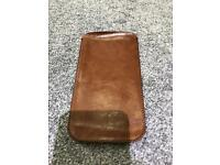 iPhone 7 Plus LEATHER POUCH GENUINE CALF LEATHER