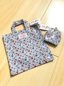 Cath Kidston Kids Mini Tote Bag & Clasp Purse Tiny Rose