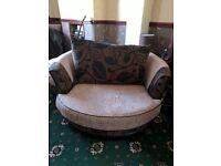 Cuddle chair £150.00