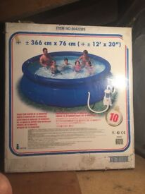 12ft swimming pool