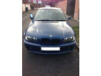 BMW 318i Coupe 2001 Spares or Repairs