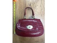 Next patent Handbag Brand New
