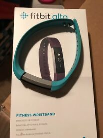 Fitbit Alta large teal strap