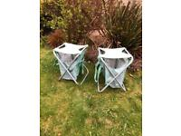 Pair of Portable & Collapsible Beach/Garden Chairs for sale