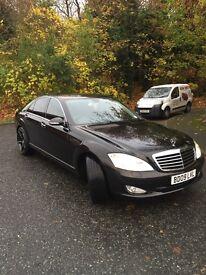 Mercedes s320 black