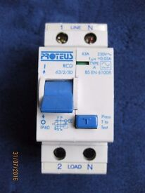 Proteus RCD and MCBs