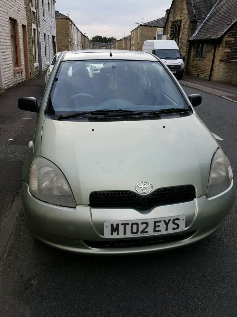 Toyota yaris 1.3 2002 £599