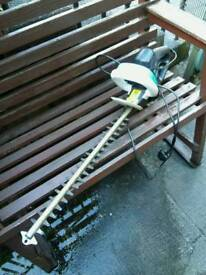 Hedge trimmer and lawn mower