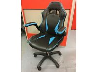 RECLINING SPORTS RACING GAMING OFFICE DESK