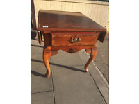 Drop leaf Coffee Table - free local delivery feel free to view size L 23 in D 27 in H 22 in