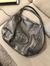 Hugo Boss Leather Tote Bag