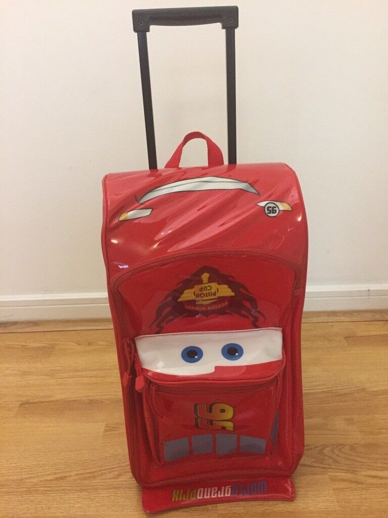 ea46d3e8af09 Lightning McQueen Rolling luggage   in West Drayton, London ...