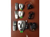 BT SYNERGY 3500 CORDLESS ANSWER PHONE WITH 3 HANDSETS (£20)