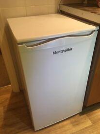 Montpellier under counter fridge with handy freezer compartment