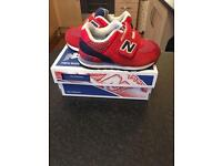 NB Trainers infant size 5