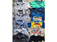Boys bundle Next&MS shirts,age 4-5,take a lot for only £25,worn few times only,immaculate