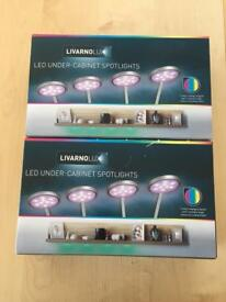 Brand New LED under cupboard lights - 2 boxes