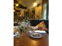 Senior Sous Chef required for well established country Restaurant & Hotel