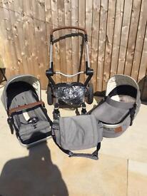 Joolz pram and cybex car seat