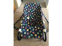 Chicco baby seat multi-positional perfect for newborns, lays flat