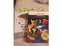 Assorted children's reading books