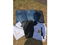 Men's clothes bundle