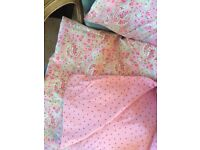 Cath Kidston for Ikea Rare Paisley Print King Size Duvet & Pillowcases