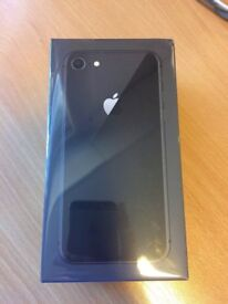 Brand New Apple iPhone 8 64GB Unlocked Space Grey - Factory Sealed