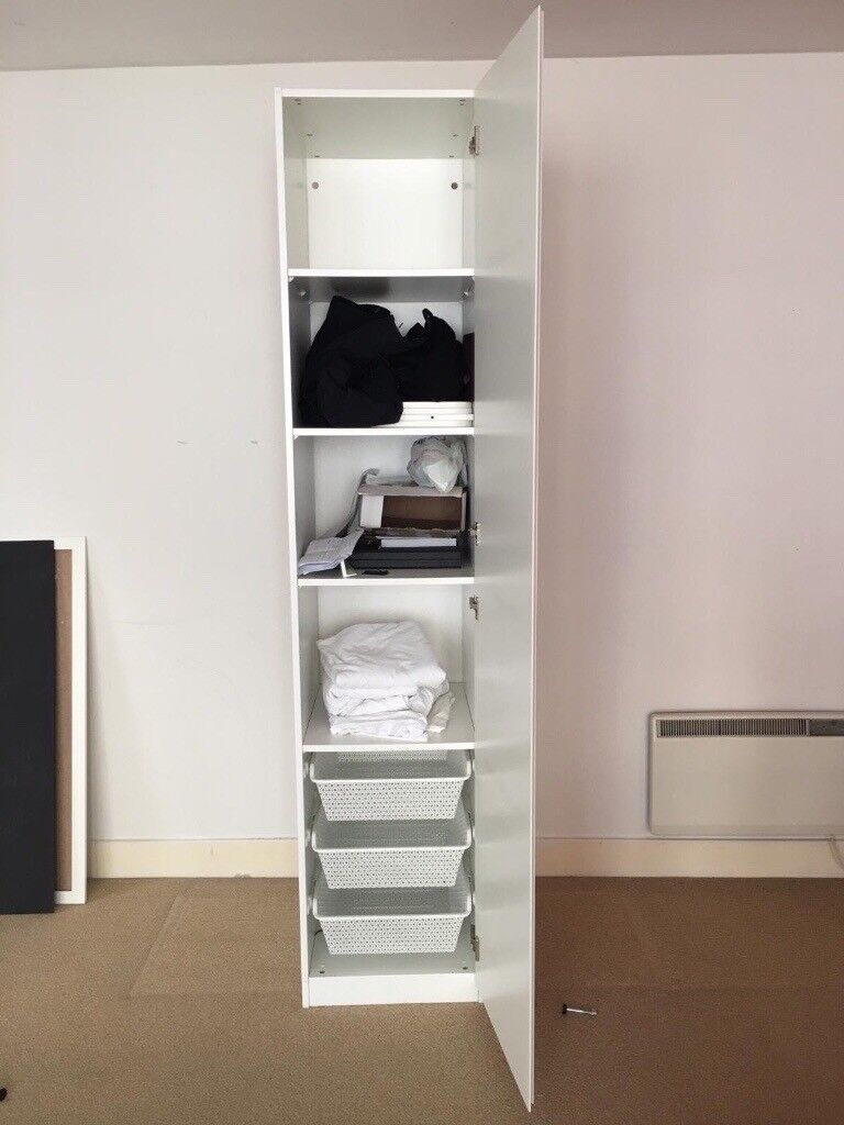 Single Pax Vikanes HackneyLondon DoorwhiteIn Gumtree Ikea Wardrobe With yYbfvI76g