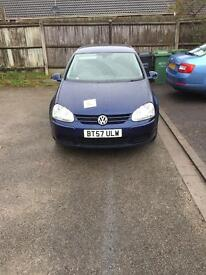VW GOLF 1.9TDI automatic DSG