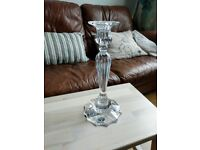 Bohemia Lead Crystal Over 24% Pbo - Candle Stick Holder