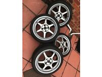 "Drifz 4x108 17"" Alloy Wheels (Citroen, Peugeot, Ford) May Swap"