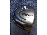 Ping G5 driver 10.5 degree
