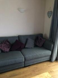 Sofa and comfy chair