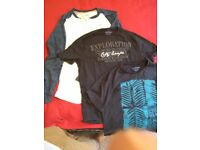3 mens T-shirts, size M