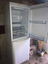 Second hand white fridge freezer FREE - Collection Only