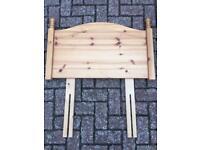 Pine Headboard - Single