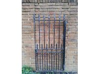 cast iron metal gate