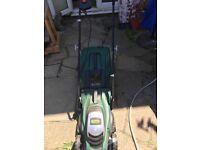 WEBB 33cm electric lawnmower
