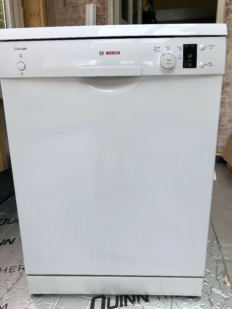 bosch classixx slimline dishwasher instructions
