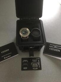 Citizen Eco Drive divers watch