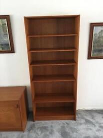 Danish Mobler Teak Bookcase