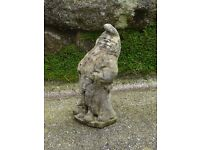 Vintage Nicely Weathered Cheeky Flashing Garden Gnome Garden Ornament Statue