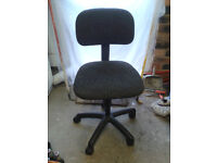 Swivel raise and lower office style chair